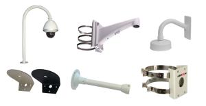 обзор моделей кронштейнов для купольных камер