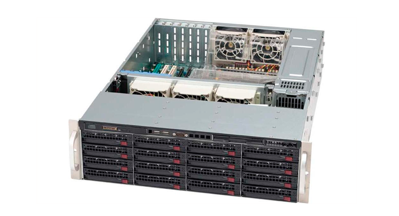 Видеосервер CSE-835TQ-R800B Корпус Supermicro 3U CSE-835TQ