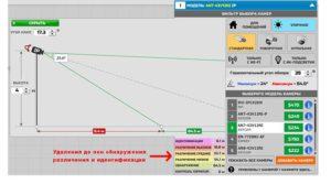 Горизонтальный сектор программы «Online Project CCTV»